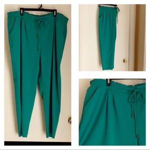 In Every Story 2X Green Stylish Comfortable Pants